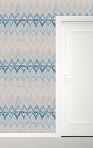 Quercus&Co. Bargello Caspian Blue (The CARAVAN Collection)