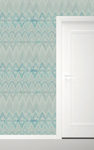 Quercus&Co. Bargello Celadon (The CARAVAN Collection)