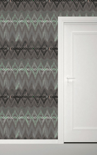 Quercus&Co. Bargello Dark Mint (The CARAVAN Collection)