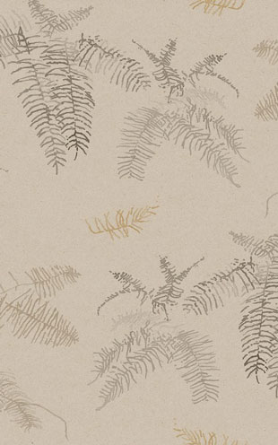 Quercus&Co. The Coastland II Collection Coral Fern Bone