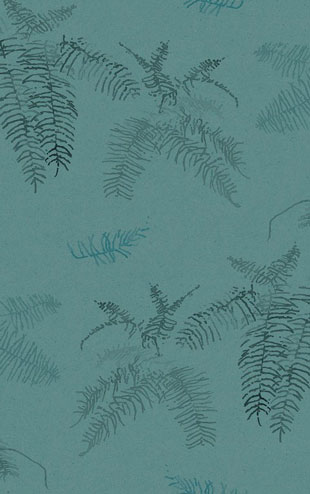 Quercus&Co. The Coastland II Collection Coral Fern Cadet Blue