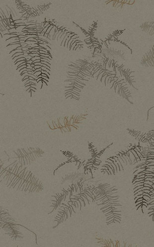Quercus&Co. The Coastland II Collection Coral Fern Davy's Grey