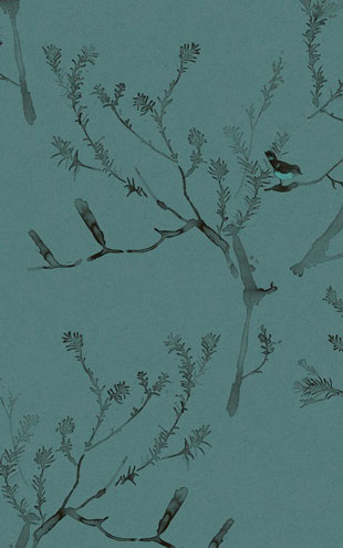 Quercus&Co. The Coastland II Collection Heath Banksia Cadet Blue