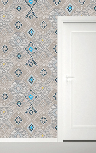 Quercus&Co. Kilim Caspian Blue (The CARAVAN Collection)