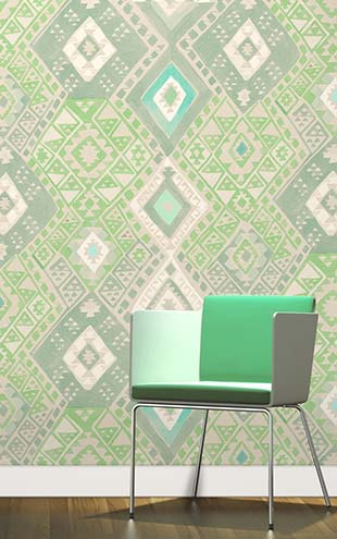 Quercus&Co. Kilim Emerald (The CARAVAN Collection)