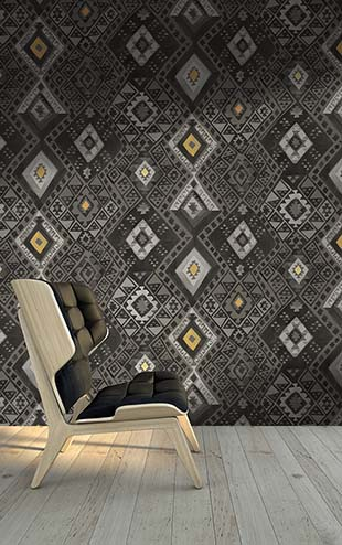 Quercus&Co. Kilim Midnight (The CARAVAN Collection)