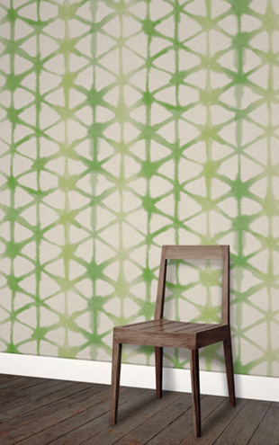 Quercus&Co. Morph Leaf Green (The Colorwash Collection)