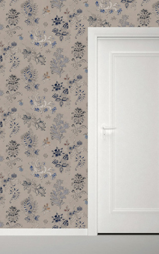 Quercus&Co. Paisley Indigo (The CARAVAN Collection)