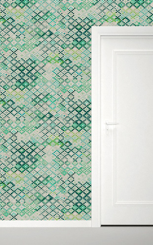 Quercus&Co. Tapestry Emerald (The CARAVAN Collection)