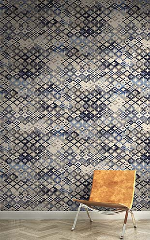 Quercus&Co. Tapestry Indigo (The CARAVAN Collection)