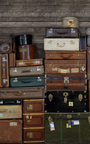 Rebel Walls #6 Passion / STACKED SUITCASES R14061