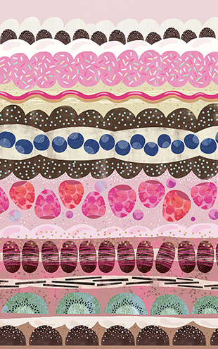 Rebel Walls #8 STORYTIME / Sugar Stripes R14621