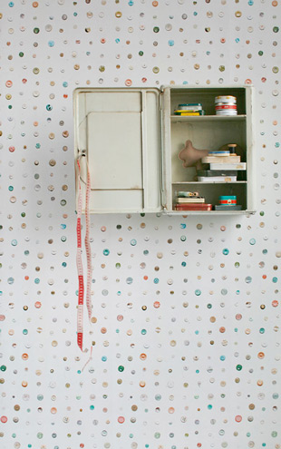 studio ditte / Button wallpaper