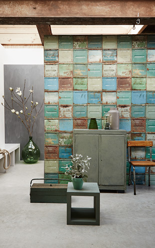 studio ditte / Container wallpaper mixed