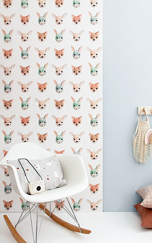 studio ditte / Forest animals wallpaper