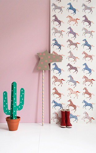 studio ditte / Horses wallpaper