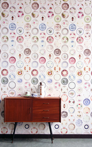 studio ditte / Porcelain wallpaper/colorful