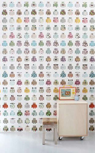 studio ditte / Robot wallpaper