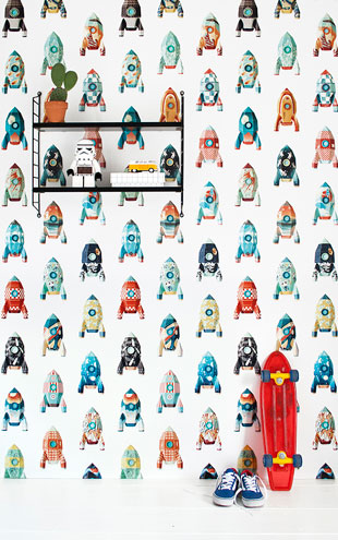 studio ditte / Rocket wallpaper