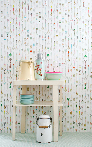 studio ditte / Teaspoons Wallpaper