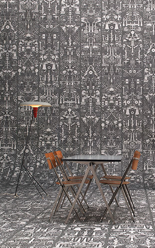 Archives Wallpaper by Studio Job / Industry (JOB-01)