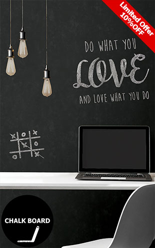 はがせる シール 壁紙 NU WALLPAPER / Vintage Chalkboard Peel and Stick Wallpaper / NU2220