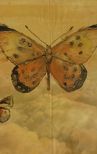 Wall&Deco Gio Pagni 14 Butterlies / GPW1433