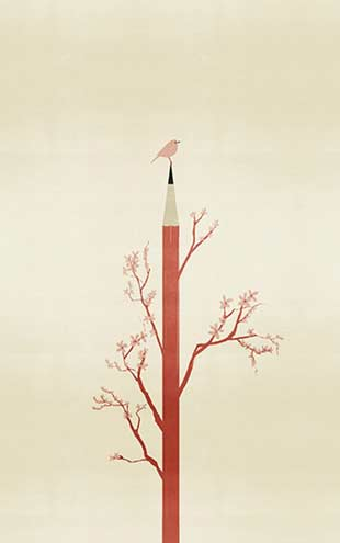 Wall&Deco / Contemporary Wallpaper 2016 Alessandro Gottardo (aka Shout) CHARLIE WDCH1601