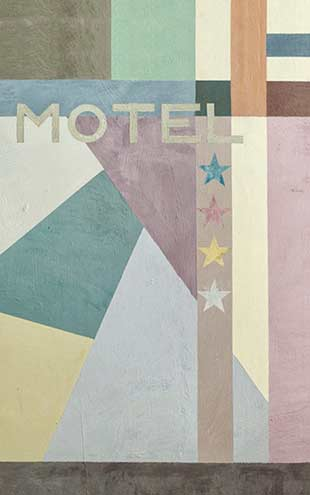Wall&Deco / Contemporary Wallpaper 2016 Eva Germani MOTEL FUTURISTE WDMF1601