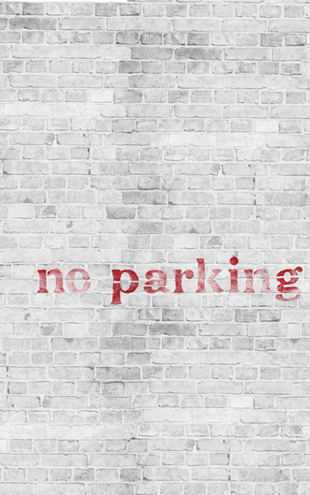 Wall&Deco Life 12 No parking / WDNO1202