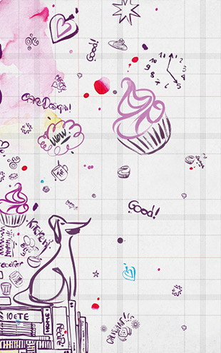 Wall&Deco Life 14 Wall Notes / WDWN1401