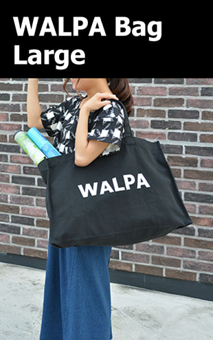 WALPA BAG Large Black ラージ ブラック