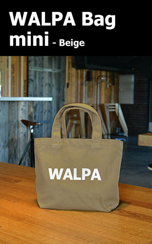 WALPA BAG mini Beige ミニ ベージュ