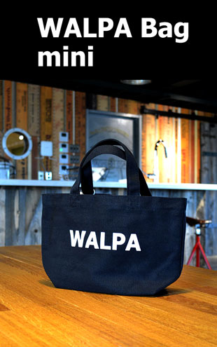 WALPA BAG mini Black ミニ 黒