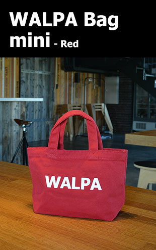 WALPA BAG mini Red ミニ 赤