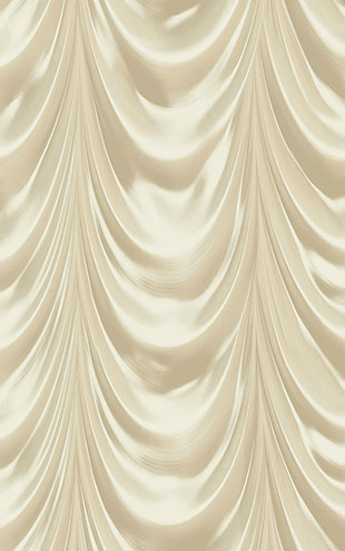 WALLQUEST 3D Golden Curtain TD30308 (UTOPIA5)