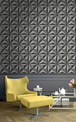 WALLQUEST 3D Flower Panel TD30900