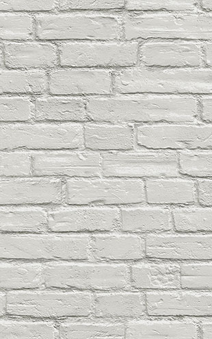 WALLQUEST 3D White Brick Wall TD31500