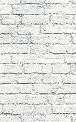 WALLQUEST 3D White Brick Wall TD31502 (THE BLOOMING HOUSE6)