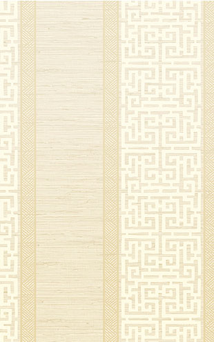 WALLQUEST / CHINOISERIE Maze Stripe CH70103