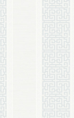 WALLQUEST / CHINOISERIE Maze Stripe CH70107