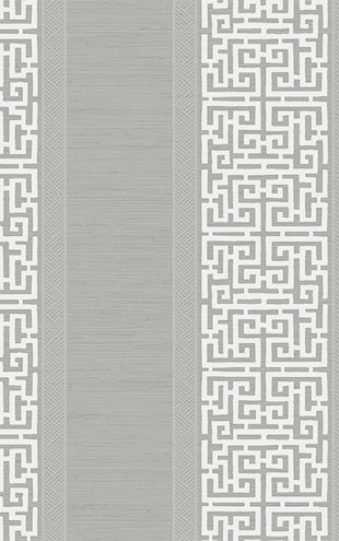 WALLQUEST / CHINOISERIE Maze Stripe CH70108