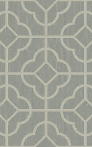 WALLQUEST / CHINOISERIE Quatrefoil Lattice CH71208