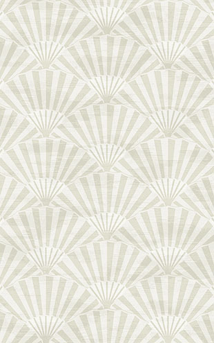 WALLQUEST / CHINOISERIE Ombre Fans CH71600