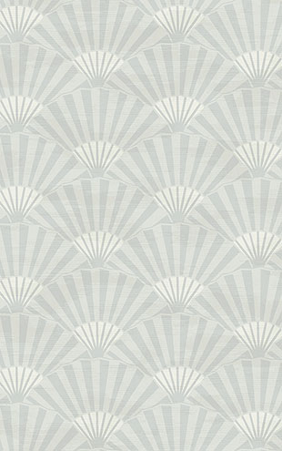 WALLQUEST / CHINOISERIE Ombre Fans CH71608