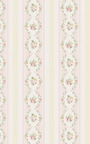 WALLQUEST FLORA Floral Stripe FG71103