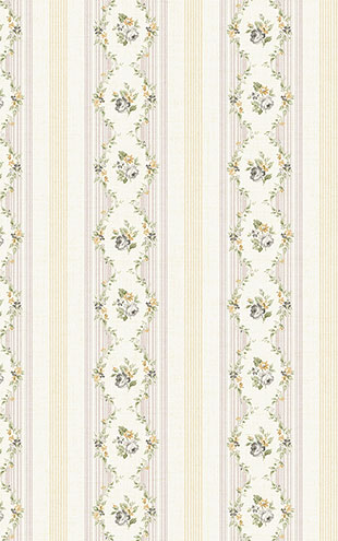 WALLQUEST FLORA Floral Stripe FG71108