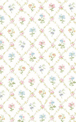 WALLQUEST FLORA Diamond Floral FG71501