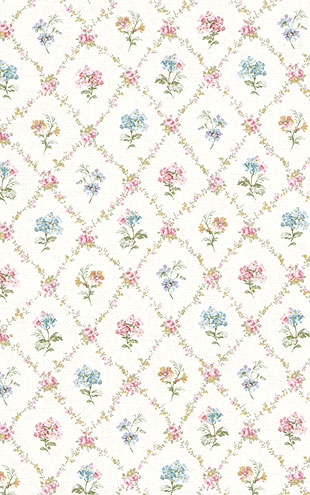 WALLQUEST FLORA Diamond Floral FG71502