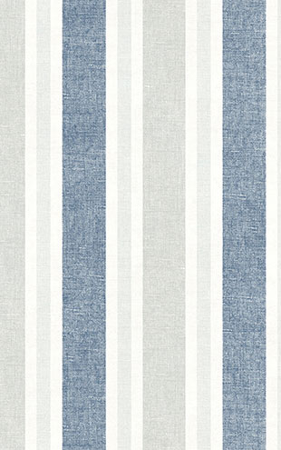 WALLQUEST / THE YACHT CLUB Multi Stripe YC60612